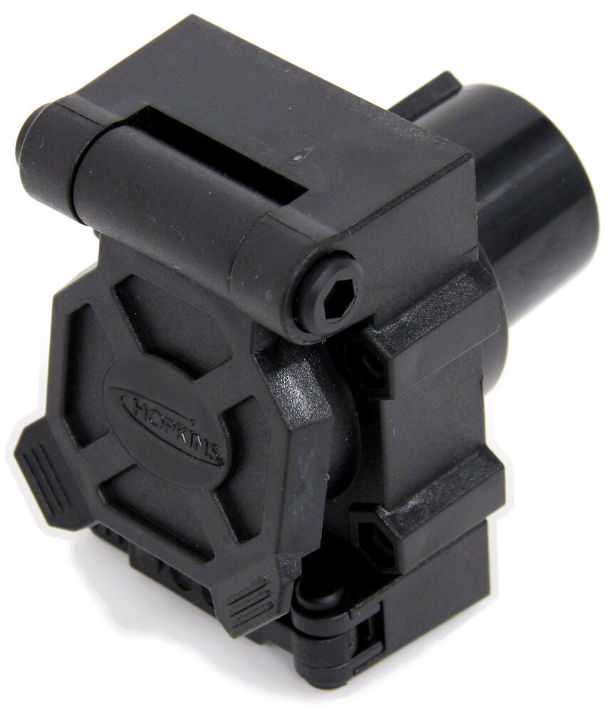 Hopkins Endurance Multi-Tow 7-Way RV and 4-Way Flat Trailer Connector -  Vehicle End Hopkins Wiring HM40950