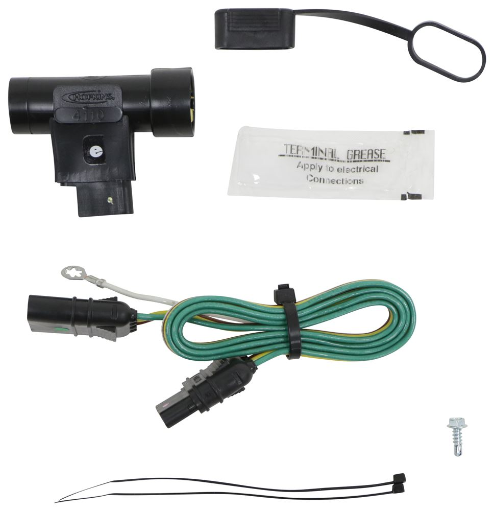 Compare Hopkins Plug In Vs T One Vehicle Wiring Trailer Harness Simple With 4 Pole Flat Connector
