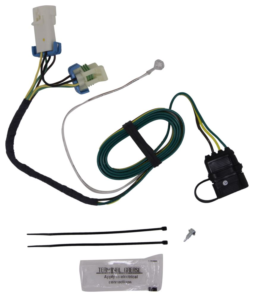 Compare Hopkins Plug In Vs Curt T Connector Etrailercom Tconnector Vehicle Wiring Harness With 4 Pole Trailer Custom Fit Hm41135 Simple Flat