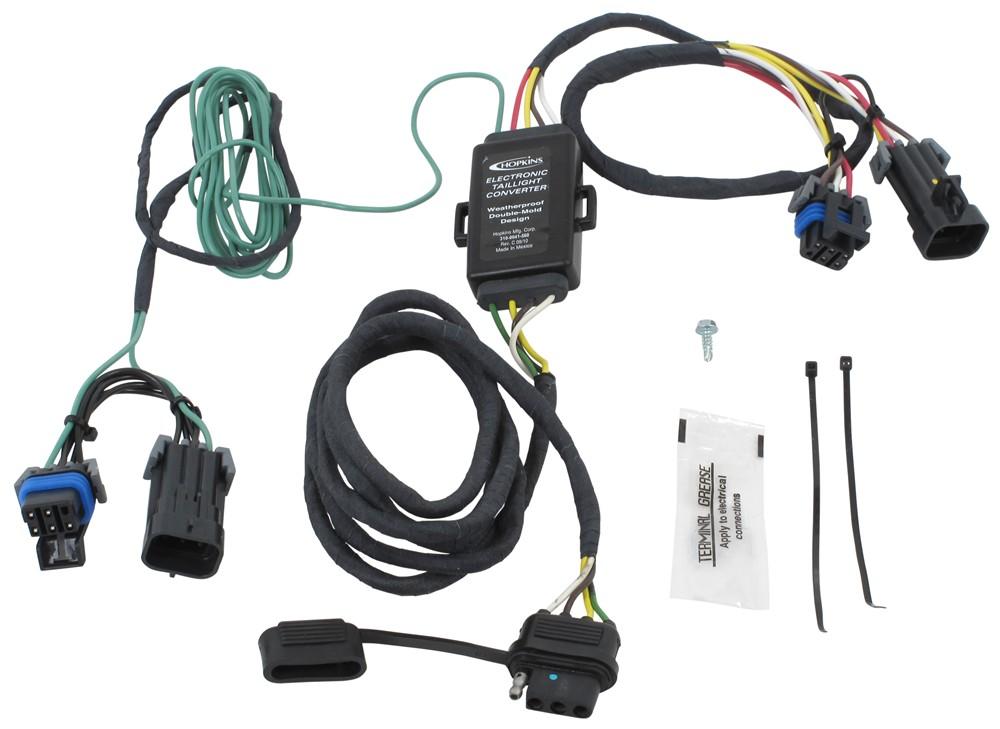 Pontiac montana custom fit vehicle wiring hopkins