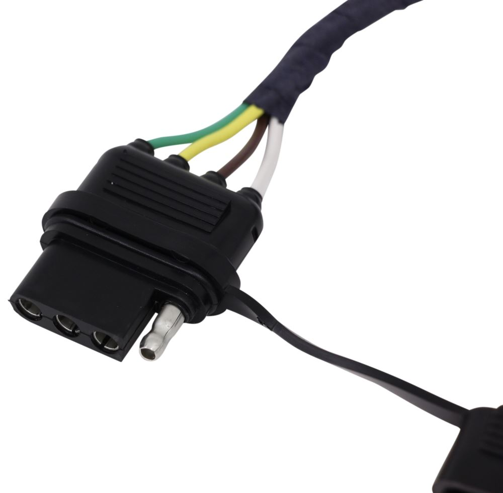 Compare Hopkins Plug In Vs T One Vehicle Wiring Trailer Hitch Electrical Harnesses Adapters Connectors Simple Harness With 4 Pole Flat Connector