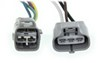 Hopkins Plug-In Simple Vehicle Wiring Harness for Factory Tow Package - 7-Way and 4-Flat Connectors 7 Blade,4 Flat HM43374