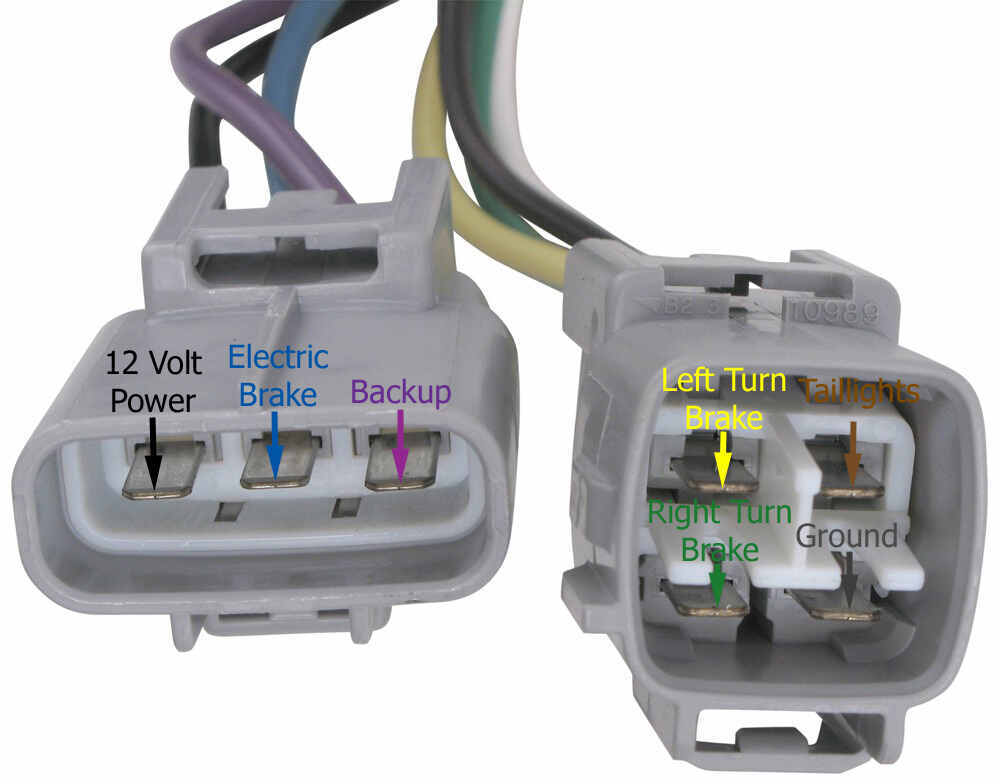 Hopkins Plug-In Simple Vehicle Wiring Harness for Factory Tow ... on