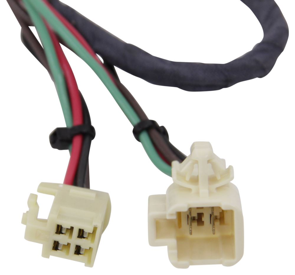Toyota 4runner Trailer Wiring Adaptor Compare Hopkins Plug In Vs Curt T Connector Etrailercom Hm43415 4 Flat Hitch
