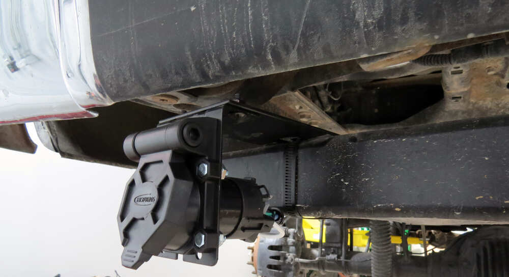 Hopkins Endurance Quick-install 7-way Trailer Connector With Universal Pigtail Harness