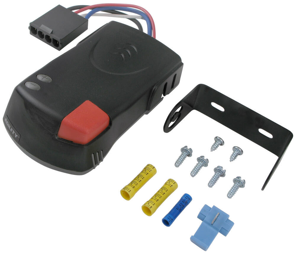 Hopkins Agility Trailer Brake Controller Plug In 1 To 4 Axles Ford 2000 Tractor Dash Wiring Proportional Hm47294