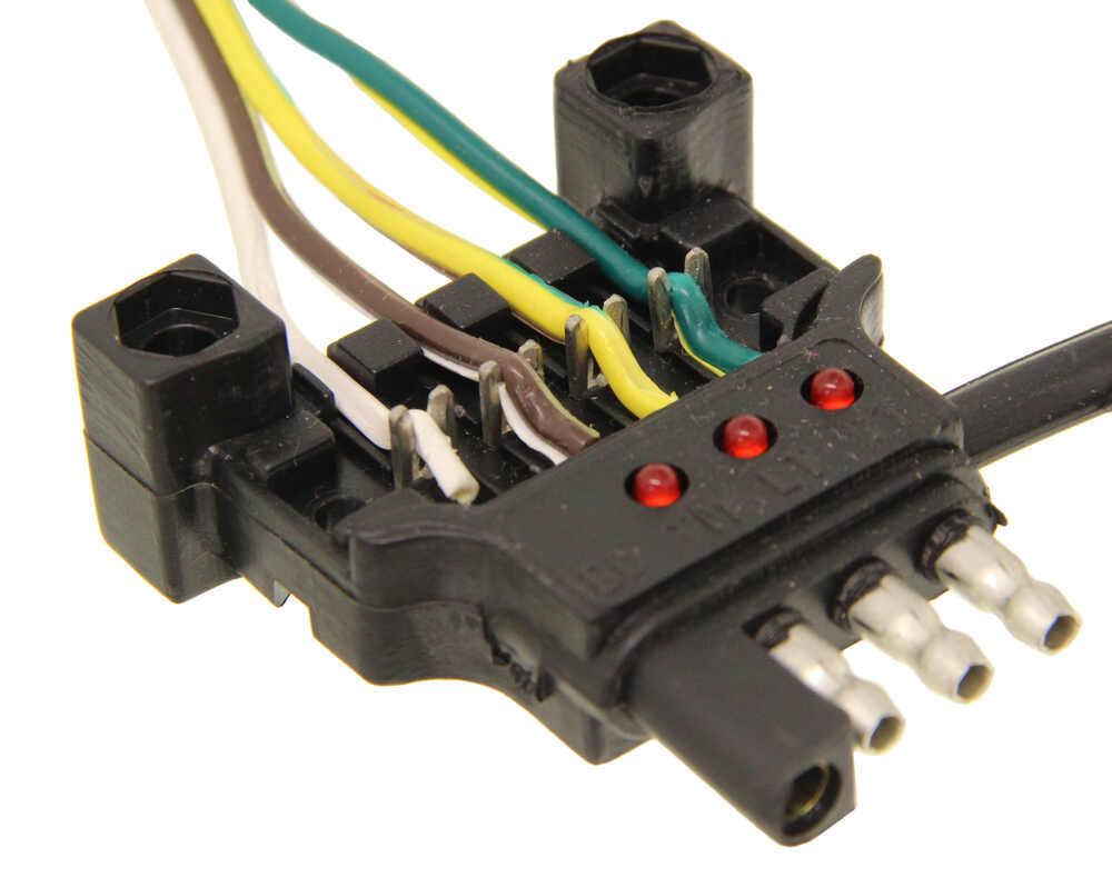 Hopkins Trailer Light Adapter Plug Wiring Adapters Endurance Quickfix Replacement 4way Flat