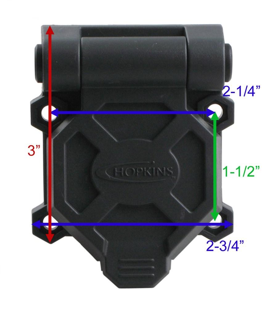 Trailer Wiring Color Code Likewise 7 Pin Trailer Plug Wiring Diagram