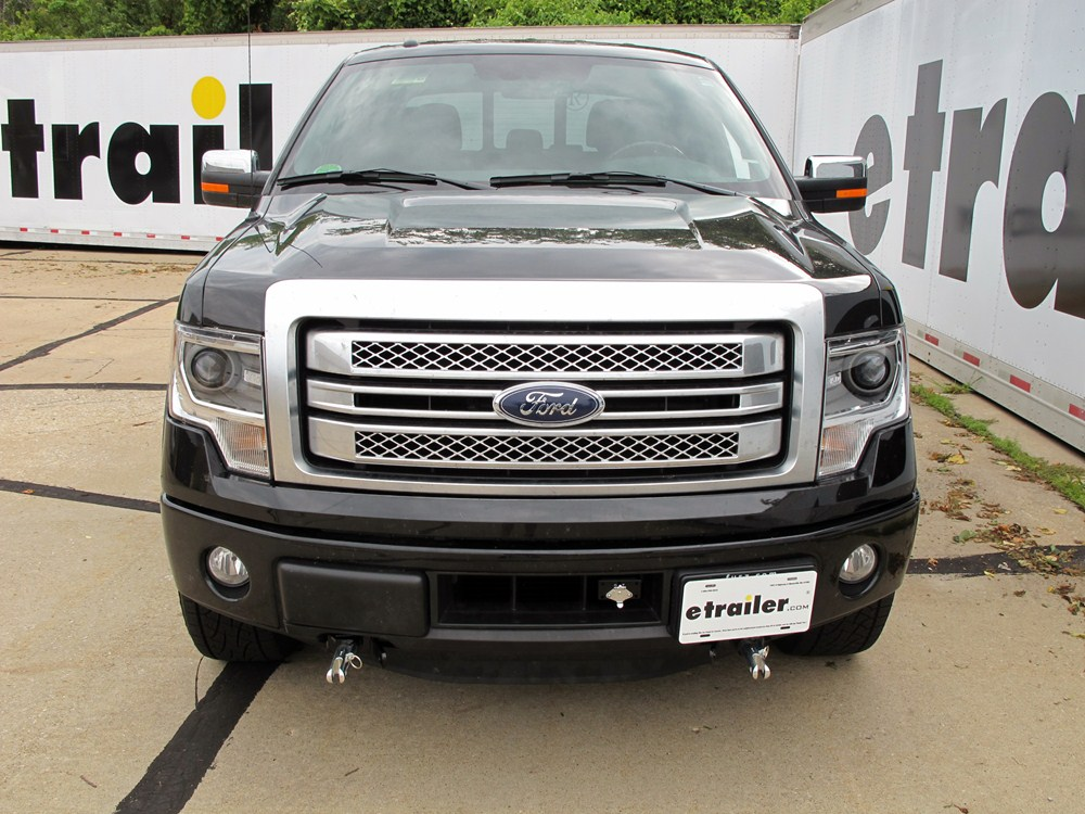 2013 ford f-150 tow bar wiring