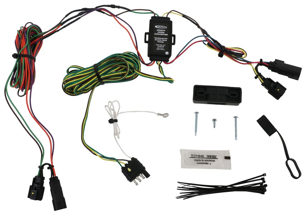 HM56002 - Wiring Harness Hopkins Plugs into Vehicle Wiring