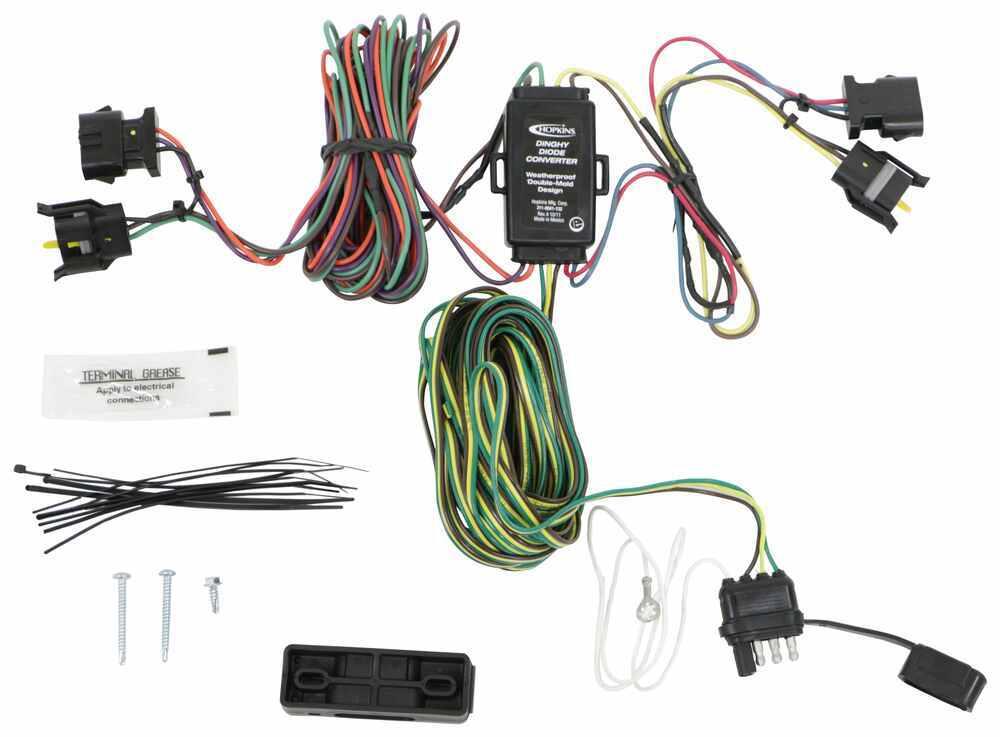 Tow Bar Wiring HM56003 - Wiring Harness - Hopkins