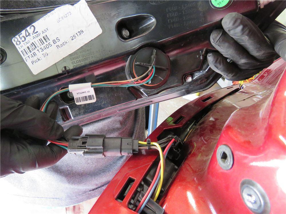 2016 Ford Edge Tow Bar Wiring
