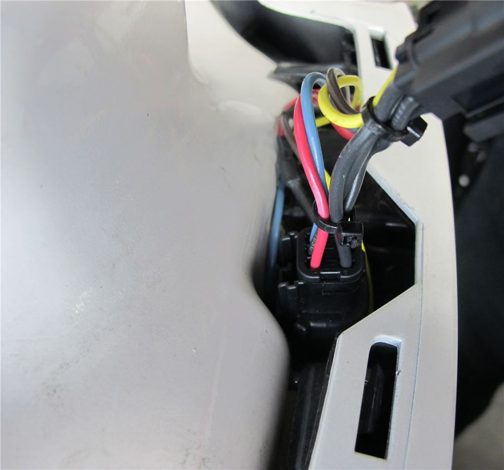 Hopkins Plugs into Vehicle Wiring - HM56011 on 2017 Ford Edge. Hopkins Tail  Light ...
