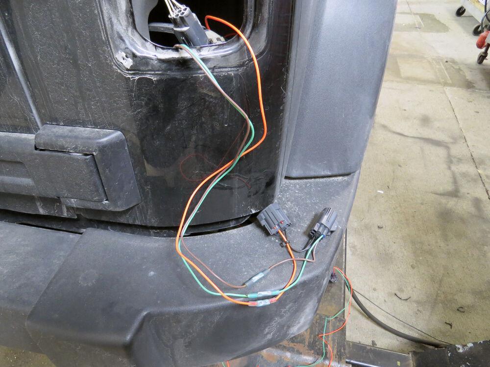 2013 Jeep Wrangler Hopkins Custom Tail Light Wiring Kit