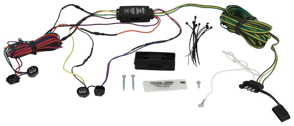 hopkins custom tail light wiring kit for towed vehicles hopkins tow