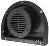 "2-Piece Polypropylene Trailer Vent for 3"" Diameter Hole - Black"