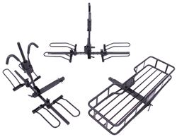 "Hollywood Racks Sport Rider SE Platform 4 Bike Rack w/ Cargo Carrier - 2"" Hitches - Frame Mount"