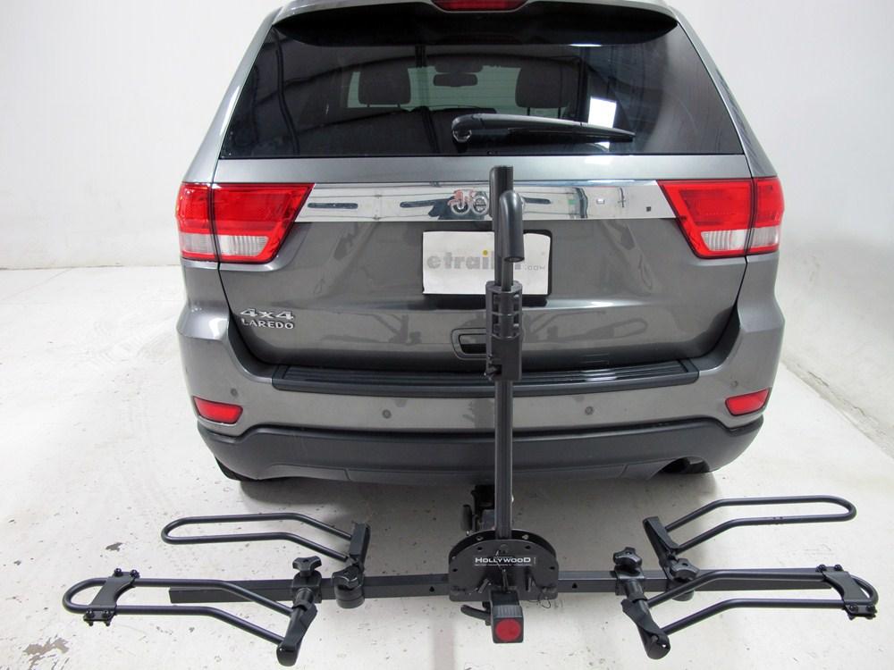 2012 jeep grand cherokee hollywood racks sport rider se2 2 bike platform rack 2 hitches. Black Bedroom Furniture Sets. Home Design Ideas