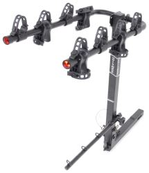"Hollywood Racks Road Runner 4 Bike Carrier for 2"" Hitches - Extended Shank - Tilting"