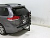 "Hollywood Racks Traveler 5 Bike Carrier for 2"" Hitches - Tilting Tilt-Away Rack,Fold-Up Rack HR9200 on 2014 Toyota Sienna"