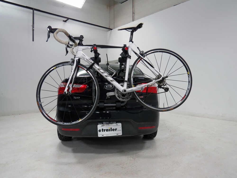 2 BICYCLE REAR MOUNT CARRIER CAR RACK for JAGUAR X-TYPE SALOON 01-10