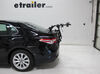 Hollywood Racks Baja 2 Bike Carrier - Fixed Arms - Trunk Mount Non-Adjustable HRB2 on 2018 Toyota Camry