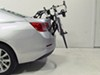 Hollywood Racks Expedition 2 Bike Carrier - Adjustable Arms - Trunk Mount Adjustable Arms HRF6-2 on 2013 Chevrolet Malibu