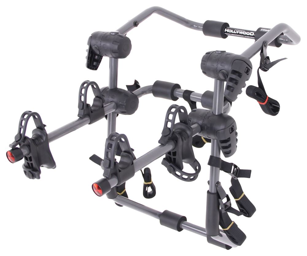 Hollywood Racks Expedition 2 Bike Carrier - Adjustable Arms - Trunk Mount Hanging Rack HRF6-2