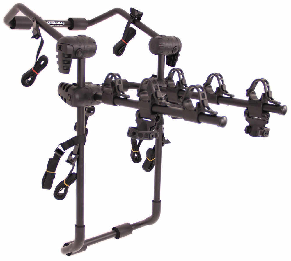 Hollywood Racks Expedition 3 Bike Carrier - Adjustable Arms - Trunk Mount Hanging Rack HRF6-3