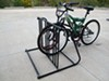 Hollywood Racks Bike Valet Bicycle Parking Stand - Double Sided - 6 Bikes Black HRPS6