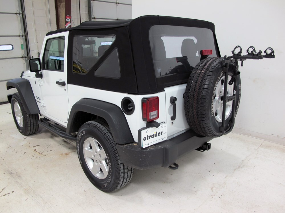 1988 jeep wrangler hollywood racks sr2 2 bike carrier. Black Bedroom Furniture Sets. Home Design Ideas