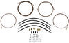 hydrastar accessories and parts trailer brakes brake lines hydraulic line kit - tandem axle 30' long 3/16 inch main