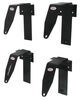 brophy camper tie-downs  clamp on - bed mount black powder coated steel qty 4