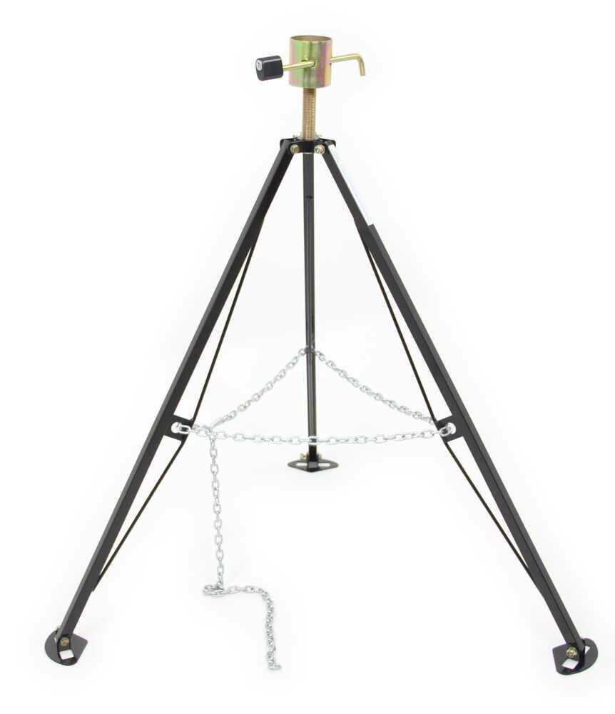 Fifth Wheel Stabilizer : Husky locking th wheel king pin stabilizer steel