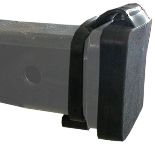 "Rubber Tube Cover for 2"" Trailer Hitch Receivers Fits 2 Inch Hitch I-728"