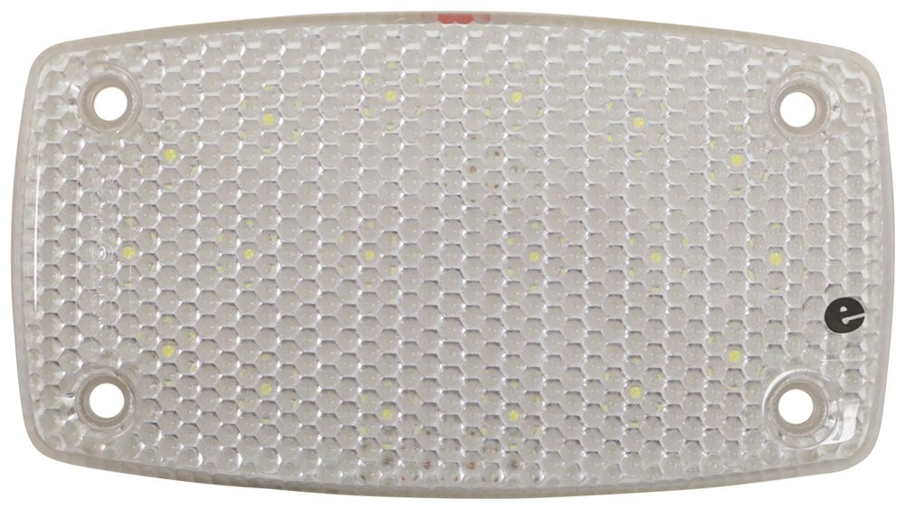 Opti-Brite LED RV Dome Light w/ Switch - 810 Lumens - Surface Mount - Clear Lens Built-In Switch ILL22CB