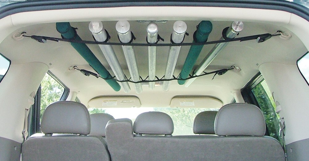 Compare rodbunk deluxe vs for Fishing rod holder for suv
