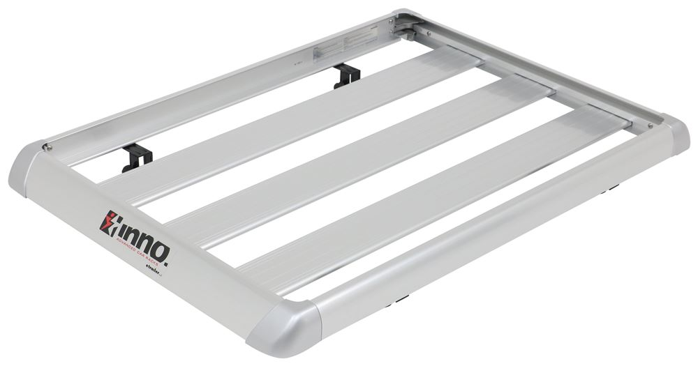 "Inno Shaper 80 Roof Cargo Basket - Square Bars - Aluminum - 46-1/2"" x 32-1/2"" - 110 lbs Aluminum IN568"