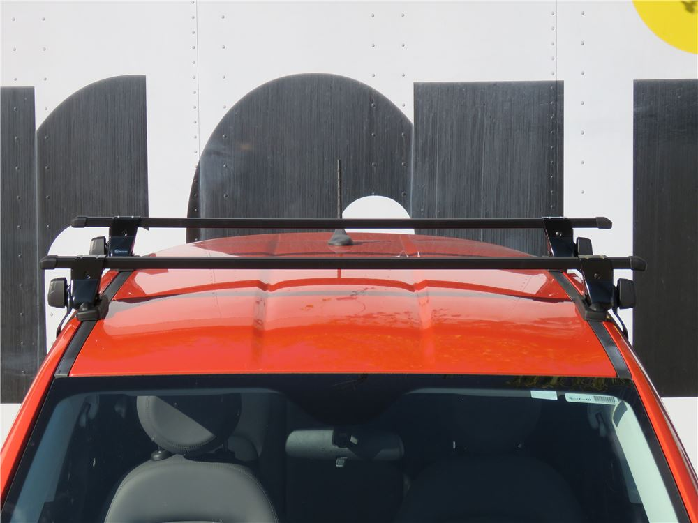 Inno Square Crossbars Steel Black 50 Long Qty 2 Inno Roof