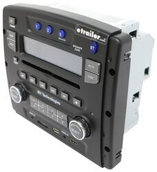 iRV RV Stereo - Double DIN - HDMI, AUX/USB, Bluetooth, App Control - 50W -  3 Zone - 12V