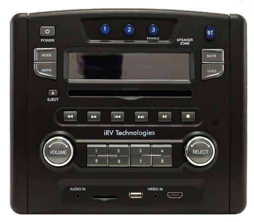 Irv Rv Stereo Double Din Hdmi Aux Usb Bluetooth App