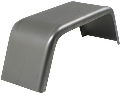 """Single Axle Trailer Fender - Jeep Style - 16 Gauge Steel - 8"""" to 12"""" Wheels - Qty 1 Steel J8824"""