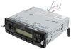 Jensen Heavy Duty Mechless RV Stereo - Single DIN - AUX, Weatherband - 12V No Bluetooth Compatibility JHD1130B