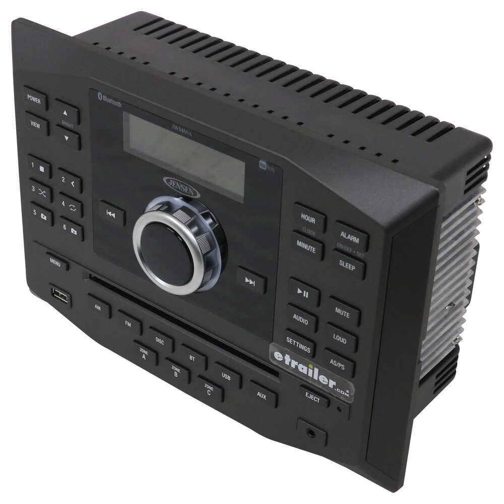 Jensen RV Stereo - Double DIN - AUX/USB, Bluetooth, jControl