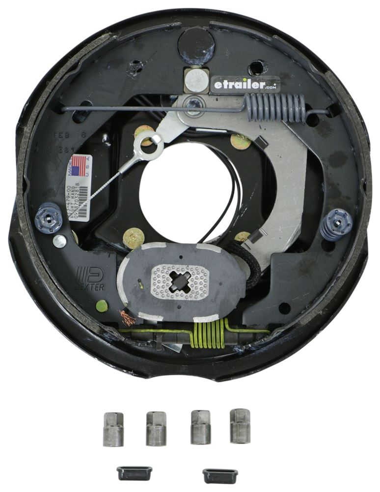 "Dexter Nev-R-Adjust Electric Trailer Brake Assembly - 10"" - Right Hand - 4,400 lbs Electric Drum Brakes K23-479-00"