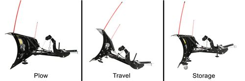 Detail K2 Avalanche Adjustable Plow Position