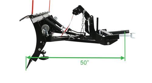 Detail K2 Avalanche Plow Length