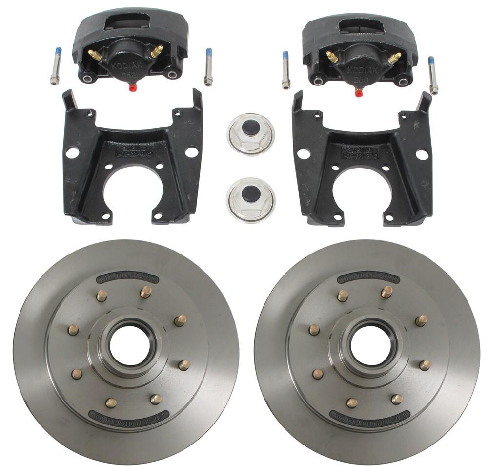 Compare Kodiak Disc Brake Vs Dexter Dx Series Pump Wiring Diagram Kit 13 Hub Rotor 8 On 6 1