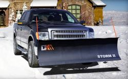 "Detail K2 Storm II Snowplow - 84"" Wide x 22"" Tall"