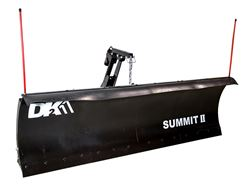 "Detail K2 Summit II Elite Snowplow - Custom Mount - Electric Actuator - 88"" x 26"""